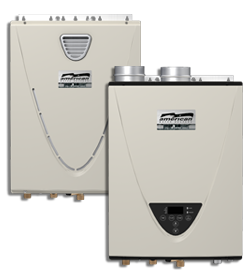 Stand Alone Commercial Condensing High Efficiency Tankless Water Heater - CT-199 Series