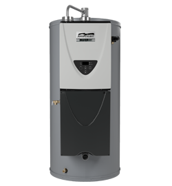 Commercial Integrated Tankless on Tank Water Heating System