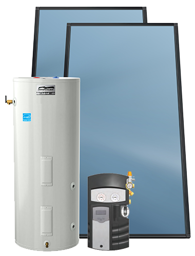 Residential SOLAR ELECTRIC PACKAGE SYSTEMS by American Water Heaters