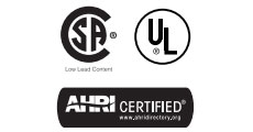 American Ultra-Low NOx 74 Gallon Commercial Gas Water Heater Certifications