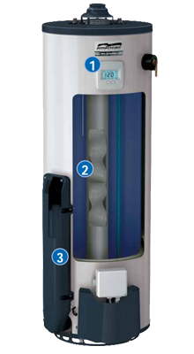 Energy Star Rated Natural Gas Water Heaters