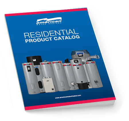 American Residential Water Heater Catalog