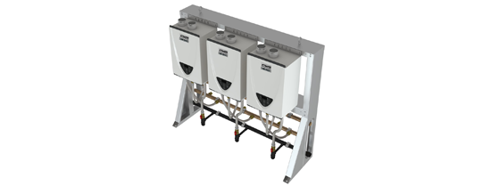Commercial Tankless Free-Standing Rack Systems