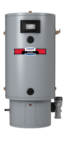 Polaris High Efficiency Commercial Gas Water Heater