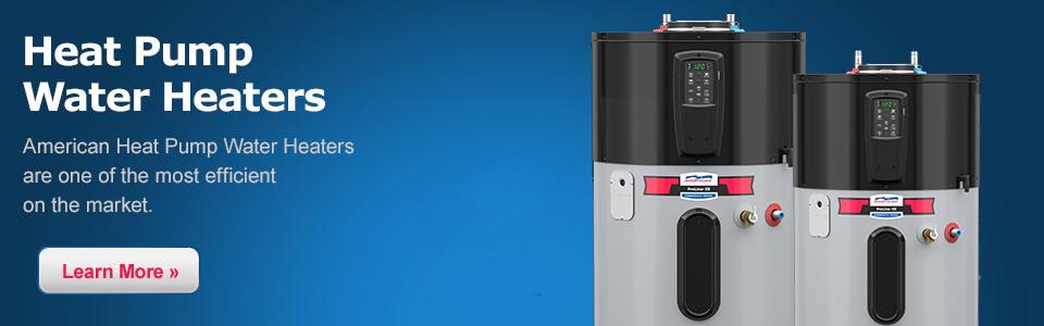 American Hybrid Electric Heat Pump Water Heaters