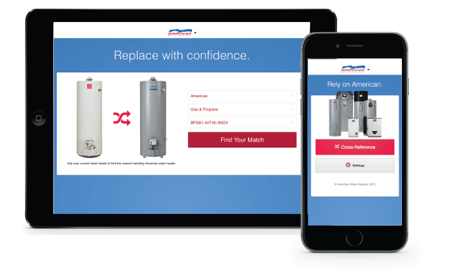 American Water Heater Mobile Application